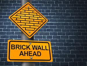 BrickWallAhead